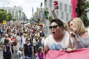 Tłumy kobiet na Marszu Godności (ZDJĘCIA)