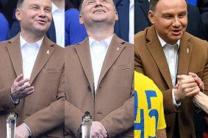 Szczęśliwy Andrzej Duda na finale Pucharu Polski (ZDJĘCIA)