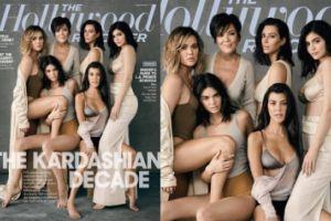 Kardashianki razem na okładce