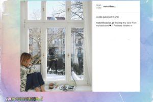 Kasia Tusk pochwaliła się widokiem z okna