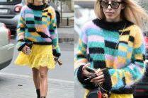#TRENDY: Ewa Chodakowska w kolorowym swetrze