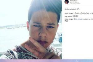 """13-letni Allan Krupa zaprasza 19-letnią """"dziewczynę"""" do Los Angeles (FOTO)"""