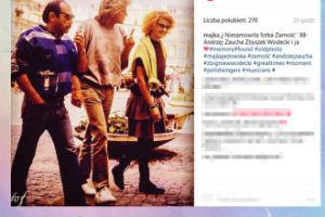 Majka Jeżowska przypomina stare zdjęcie z Wodeckim i Zauchą