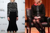 Nicole Kidman w dwóch stylizacjach w Nowym Jorku