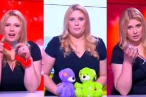 Romanowska w Pudelek Show: gra seksbombę, opiekunkę do dzieci i… pijaną prezenterkę