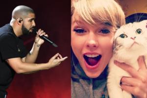 """Drake jest zakochany w Taylor Swift? """"Rozpieszcza ją prezentami dla kota""""…"""