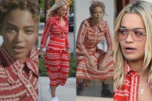 "Rita Ora w TEJ SAMEJ sukience co Beyonce w ""Lemonade""! (ZDJĘCIA)"
