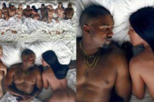 Nowy teledysk Kanye Westa: Taylor Swift, Kim Kardahsian i Donald Trump NAGO W JEDNYM ŁÓŻKU!