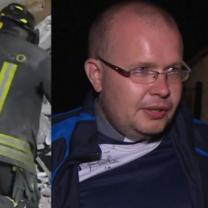 """Polski ksiądz, który przeżył trzęsienie ziemi we Włoszech: """"Zostałem cudownie ocalony!"""""""