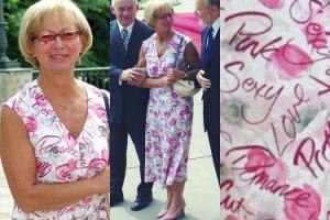 15 lat temu sukienka Aleksandry Miller przeszła do historii polskiej dyplomacji (FOTO)