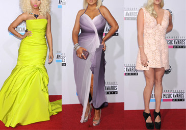 Kolorowo na American Music Awards! (FOTO)