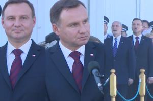 """Prezydent Duda na obchodach Święta Lotnictwa: """"Szkalowano polskich pilotów"""""""