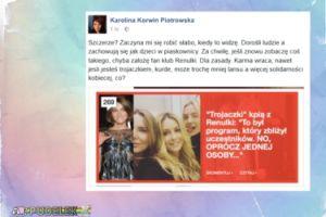 """Korwin Piotrowska do """"trojaczków show biznesu"""": """"Trochę mniej lansu, a więcej solidarności kobiecej"""""""
