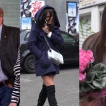 GWIAZDY POD TVN-em: Rusin uciekająca przed fanką, wkurzony Olbrychski, atak śmiechu Siwiec...