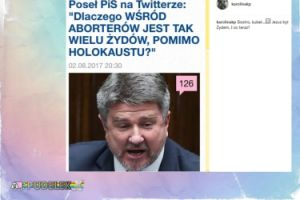 """Korwin Piotrowska do posła PiS: """"Siostro, kubeł..."""""""