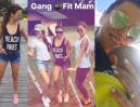 """Lewandowska z koleżankami w willi na Mazurach: """"Gang Fit Mam!"""" (FOTO)"""