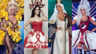 """Kandydatki na Miss Universe w """"strojach narodowych""""! KTÓRY NAJŁADNIEJSZY?"""
