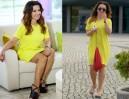 Tadla w żółtej sukience. ŁADNIE? (ZDJĘCIA)