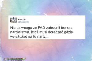 """Pola Lis też komentuje Andrzeja Dudę... """"Nic dziwnego, że zatrudnił trenera narciarstwa"""""""