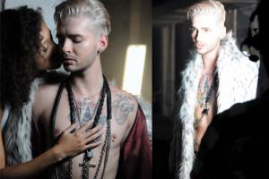 Tokio Hotel WRACA! Bill Kaulitz chwali się klatą... (WIDEO)