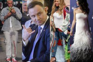 ZDJĘCIA TYGODNIA: Andrzej Duda słucha rapu, Bieber ma mokre krocze, a Beyonce nadal jest w ciąży...