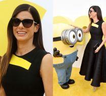 Sandra Bullock pozuje z Minionkami!