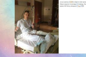 Arkadiusz Milik już po operacji