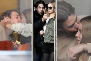 Frąckowiak i syn Przetakiewicz całują się w restauracji (ZDJĘCIA)