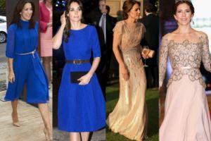 """""""Bliźniaczy"""" styl księżniczek: Kate czy Mary? (ZDJĘCIA)"""