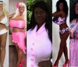 """""""Egzotyczna Barbie"""" wróciła z nowym kolorem skóry! Teraz chce być """"afrykańską królową""""... (ZDJĘCIA)"""