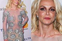 Zmęczona Britney Spears na imprezie