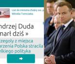 Rosjanie uśmiercili Andrzeja Dudę!
