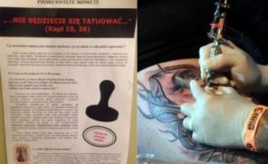 Gdańscy duchowni ostrzegają przed… tatuażami: