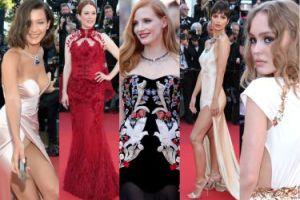 Otwarcie festiwalu w Cannes: majtki Belli Hadid, półnaga Emily Ratajkowski, dorosła Lily-Rose Depp... (ZDJĘCIA)