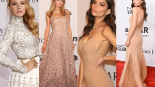 PIĘKNE SUKNIE na gali amfAR: Emily Ratajkowski, Blake Lively, siostry Hilton...