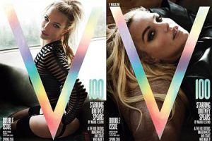 "Britney Spears na okładkach ""V Magazine"""