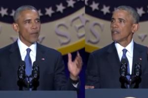 """Pożegnalne wystąpienie Obamy. """"Proszę was, żebyście wierzyli!"""""""