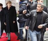 Clooney spotkał się z… Angelą Merkel!