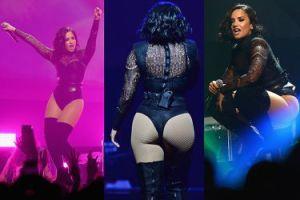 Demi Lovato pokazuje pośladki na koncercie! (ZDJĘCIA)