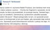Terlikowski do Przybysz: