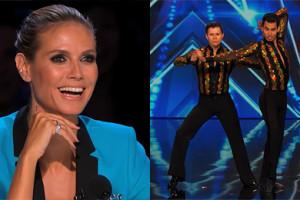 """Dwóch facetów tańczy salsę w amerykańskim """"Got Talent""""!"""