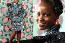 Lupita Nyong'o na pokazie Kenzo X H&M