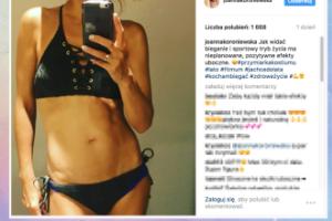 """Joanna Koroniewska chwali się """"efektami ubocznymi"""" biegania"""