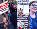 Zobaczcie, co się działo na marszu KOD-u w Warszawie (ZDJĘCIA)