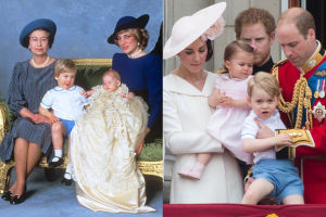 Książę Jerzy w stroju Księcia Williama sprzed... 32 lat!