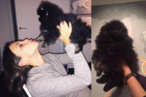 Córki Lisa i Rusin chwalą się psem