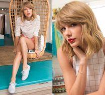 Dziewczęca Taylor Swift w kampanii reklamowej