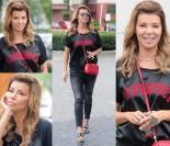 Szczęśliwa Edyta Górniak pozuje paparazzim na ulicy (ZDJĘCIA)