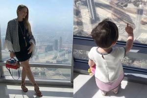 Córka Ślotały w Dubaju (FOTO)