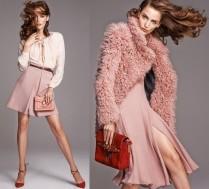 Zuzanna Bijoch w różu reklamuje ubrania
